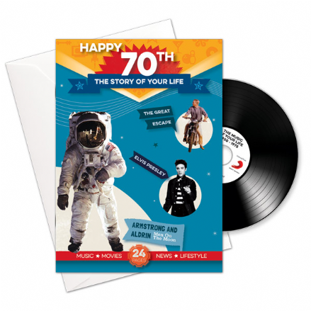 70th Birthday..The Story of your Life CD/Booklet